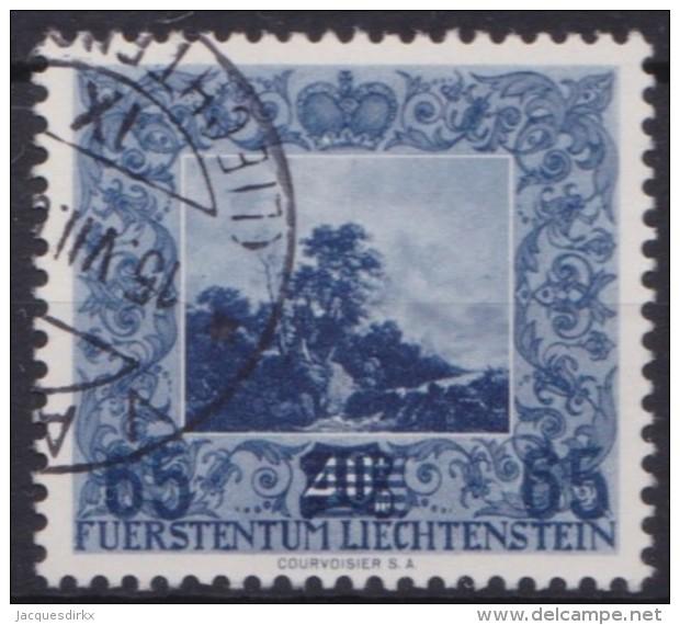 Liechtenstein   .    Yvert   .      290        .        O     .          Gebraucht - Liechtenstein
