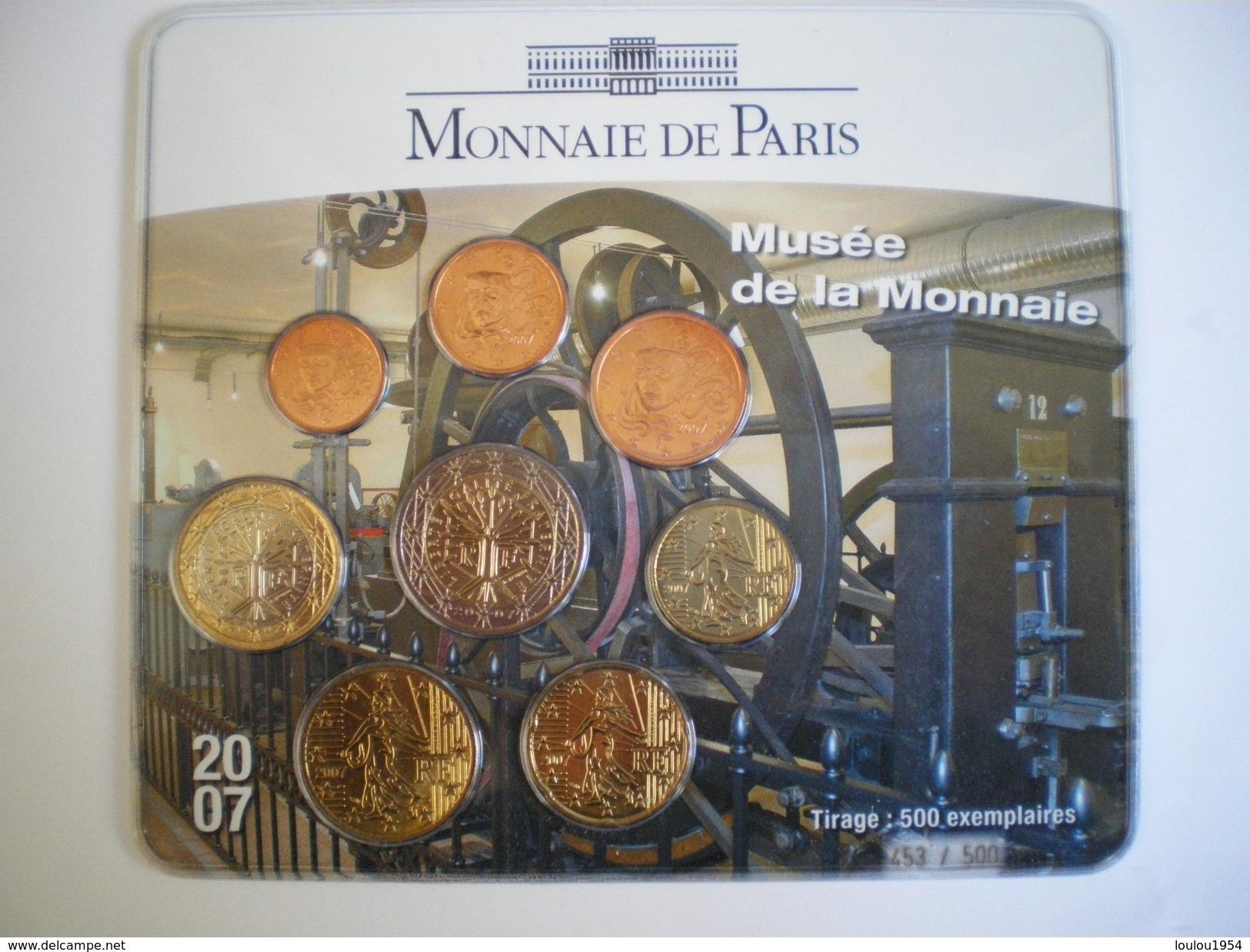 France Mini Set Salon De La Monnaie 2007 - France