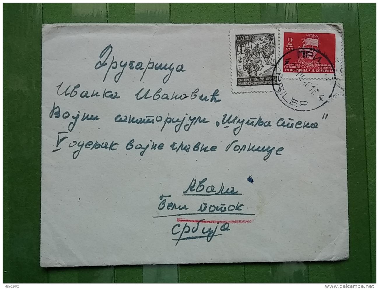 Letter, Lettre, PRILEP - 1945-1992 Socialist Federal Republic Of Yugoslavia