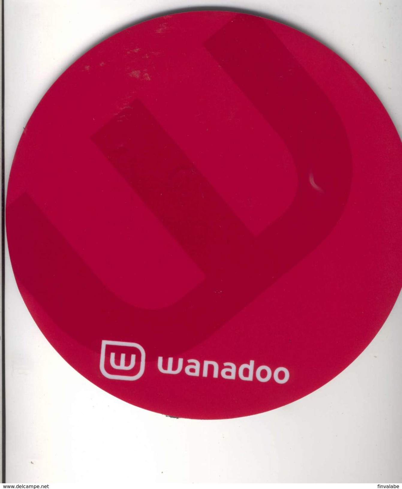 TAPIS DE SOURIS  WANADOO (France Telecom) - Autres