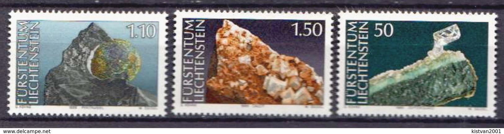 Liechtenstein MNH Set - Minerals