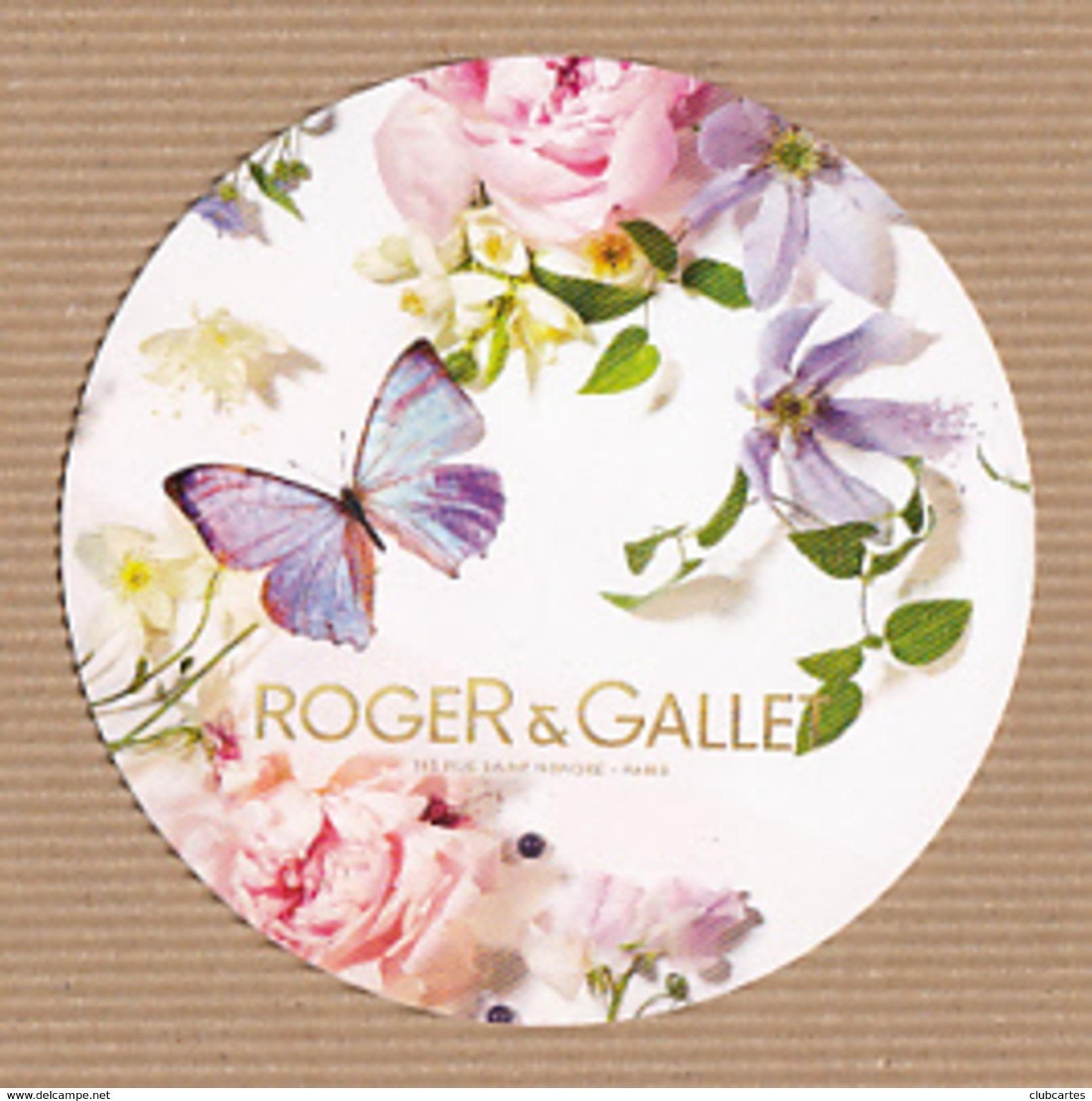 CC Carte Parfumée ROGER & GALLET BLOTTER Perfume Card JAPAN - Modern (from 1961)