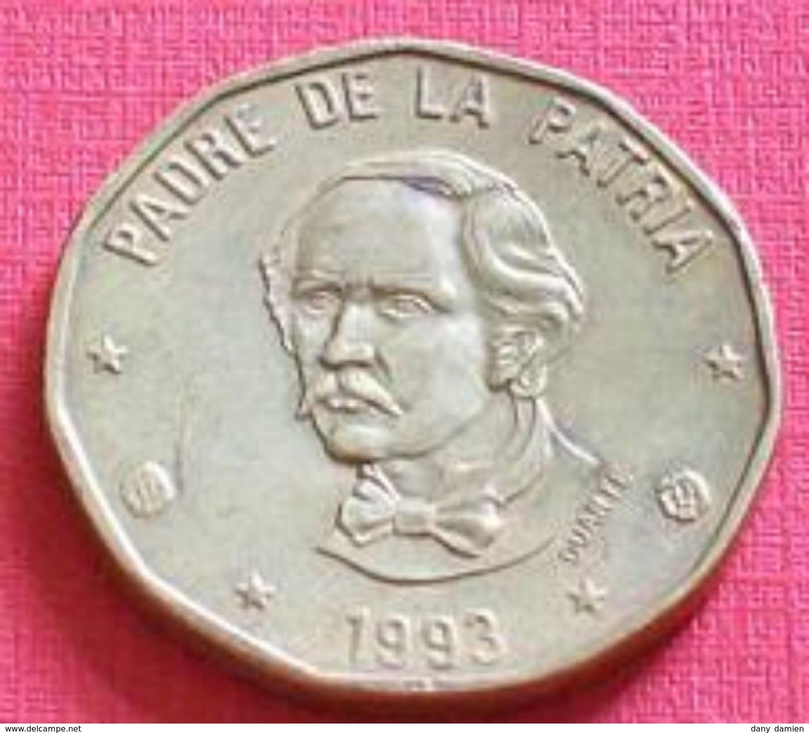 REPUBLIQUE DOMINICAINE - REPUBLIC DOMINICANA - 1 PESOS (1993) - Dominicaine