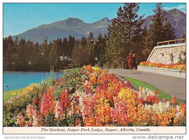 Canada Jasper The Gardens At Jasper Park Lodge