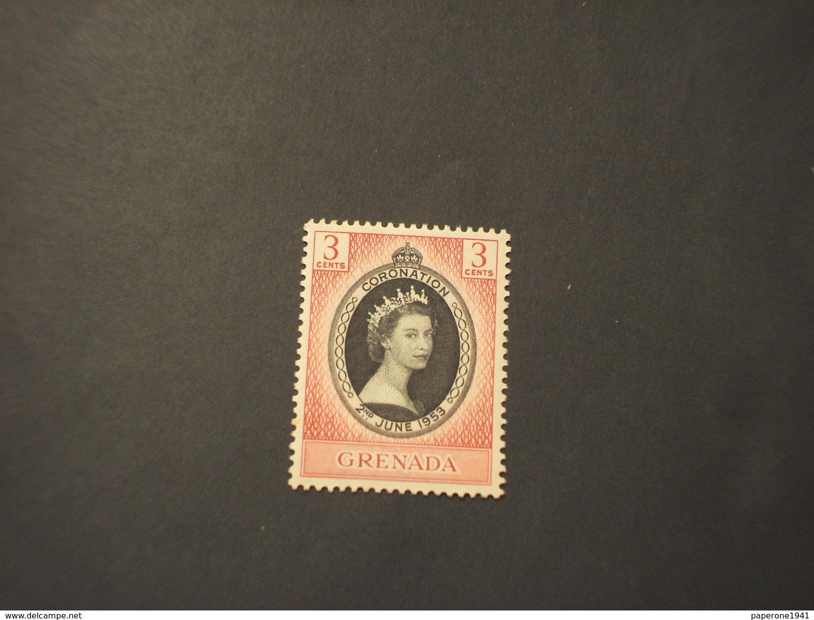 GRENADA - 1953 REGINA - NUOVO(++) - Grenada (...-1974)