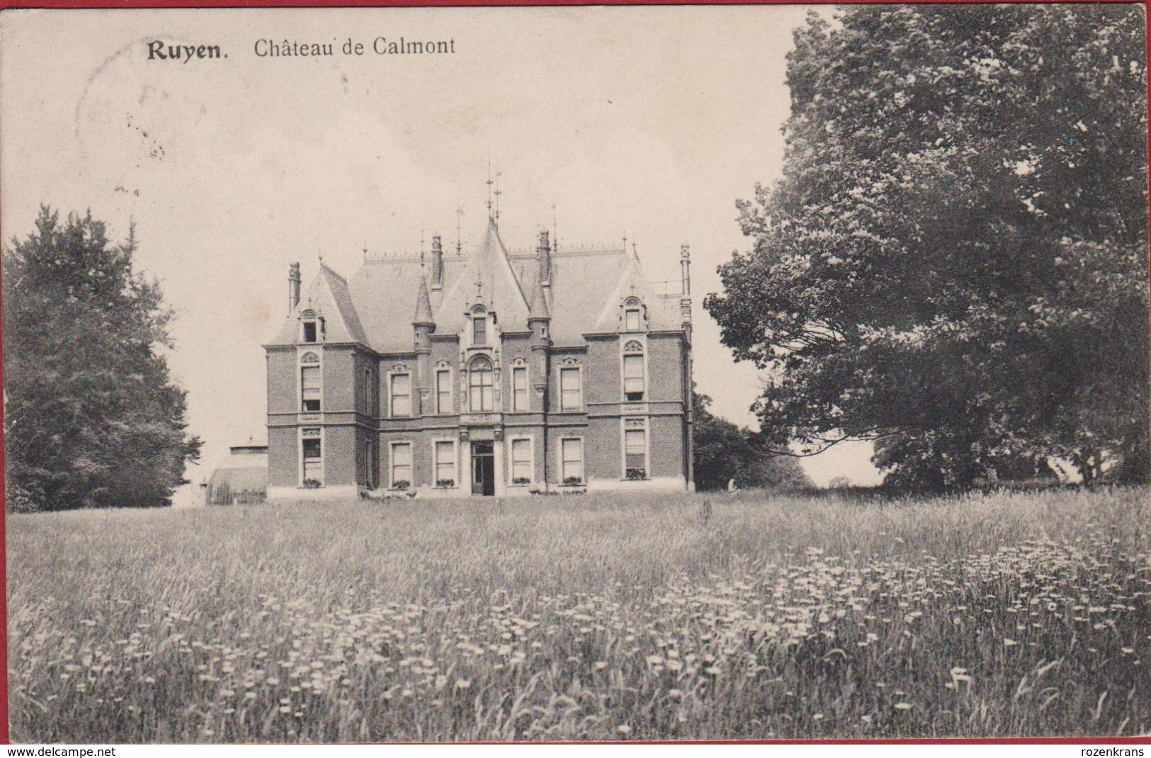 Ruien Ruyen Kluisbergen Chateau De Calmont (In Zeer Goede Staat) - Kluisbergen