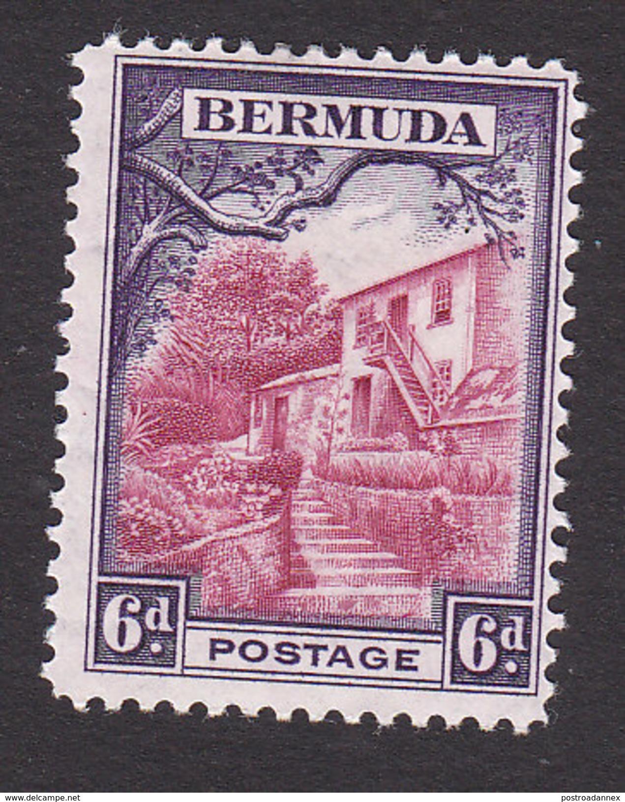 Bermuda, Scott #112, Mint Hinged, Scene At Par-la-Ville, Issued 1936 - Bermudes