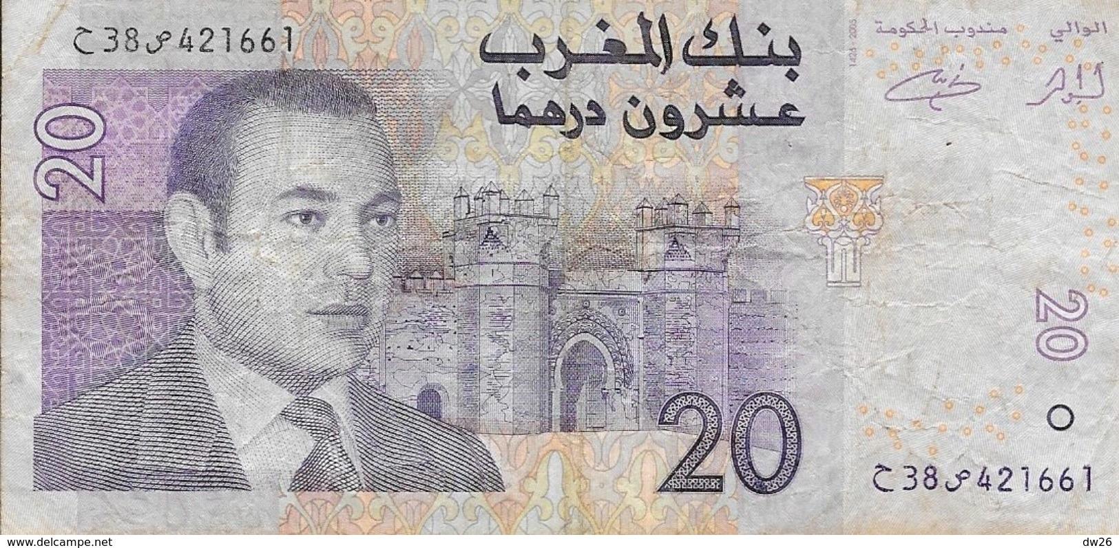 Maroc - Billet 20 Vingt Dirhams - Mohamed VI - 1426-2005 - Maroc