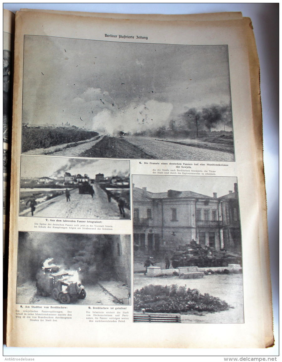 Berliner Illustrierte Zeitung 1941 Nr.32 Das Eiserne Kreuz - Deutsch