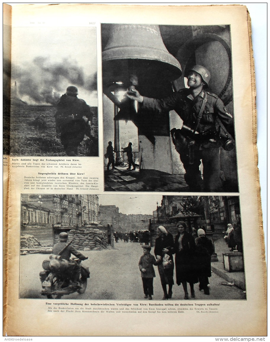 Berliner Illustrierte Zeitung 1941 Nr.40 Das Deutsche Torpedoflugzeug - Zeitungen & Zeitschriften