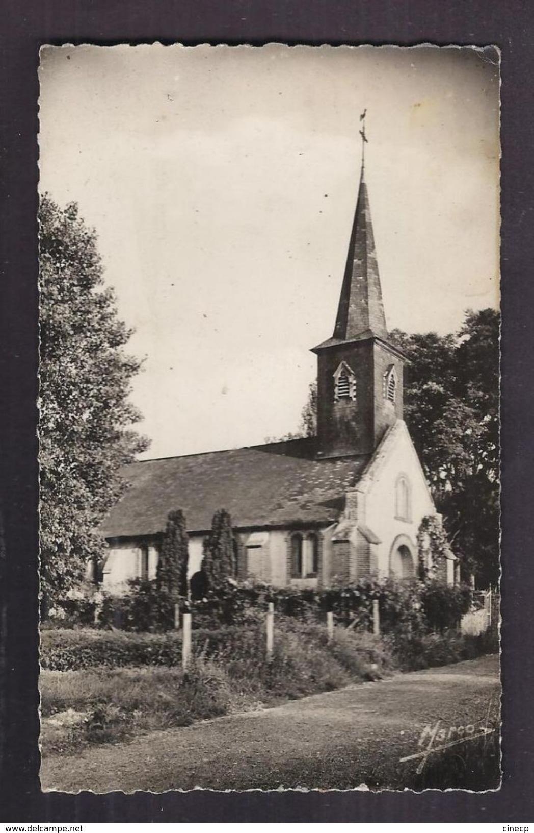 CPSM 27 - VIEUX-PORT - L'Eglise - TB PLAN EDIFICE RELIGIEUX - Altri Comuni