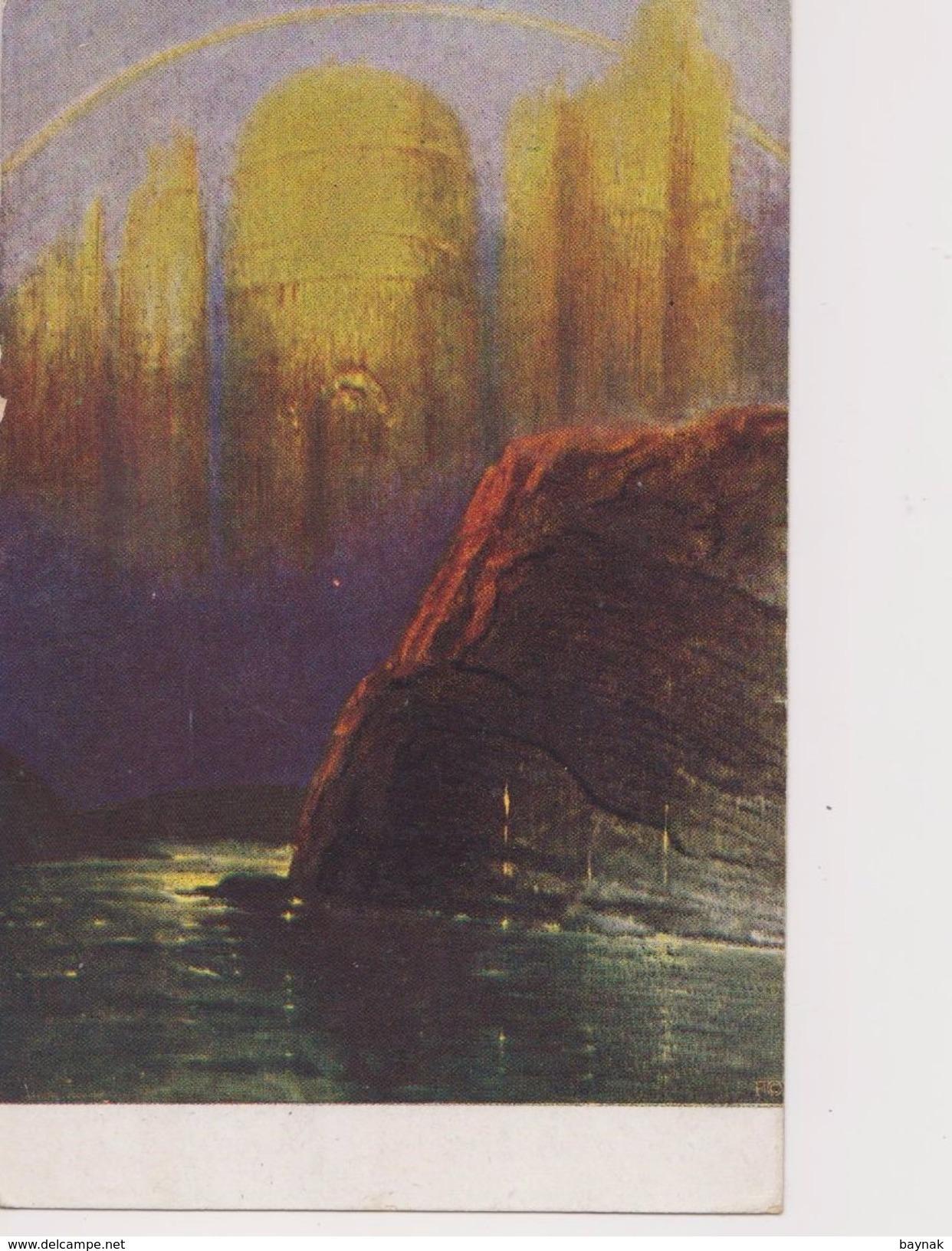 V48  >  SLOVENIA  --  VERIGARI, CHAINBREAKERS  --      POSTCARD  _.  HERMAN HENDRICHS  Pinx.   --  NIBELUNGEN  _  1921 - Slowenien
