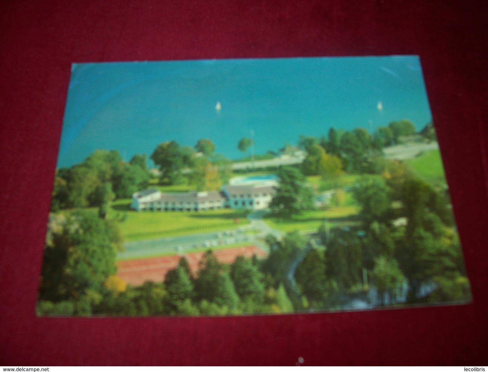 VUE AERIENNE DE LA RESERVE  ° HOTEL RESTAURANT  1293 BELLEVUE / GENEVE  LE 26 06 1972 - Suisse