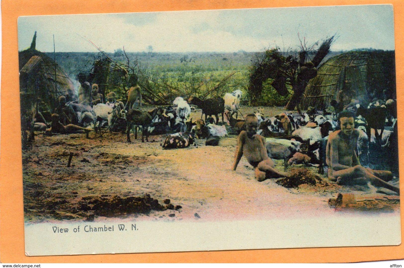 Chambei WN Sudan 1905 Postcard - Soudan