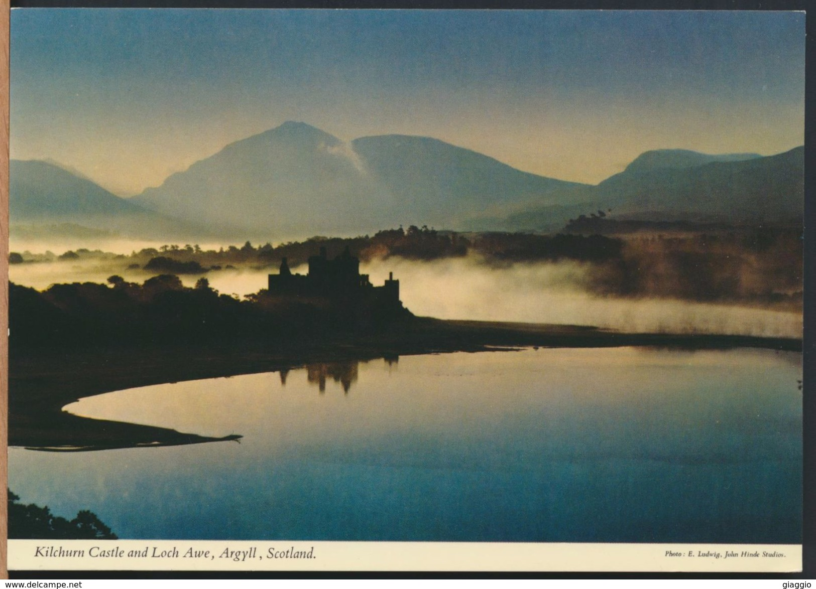 °°° 8986 - SCOTLAND - KILCHURN CASTLE AND LOCH AWE °°° - Argyllshire