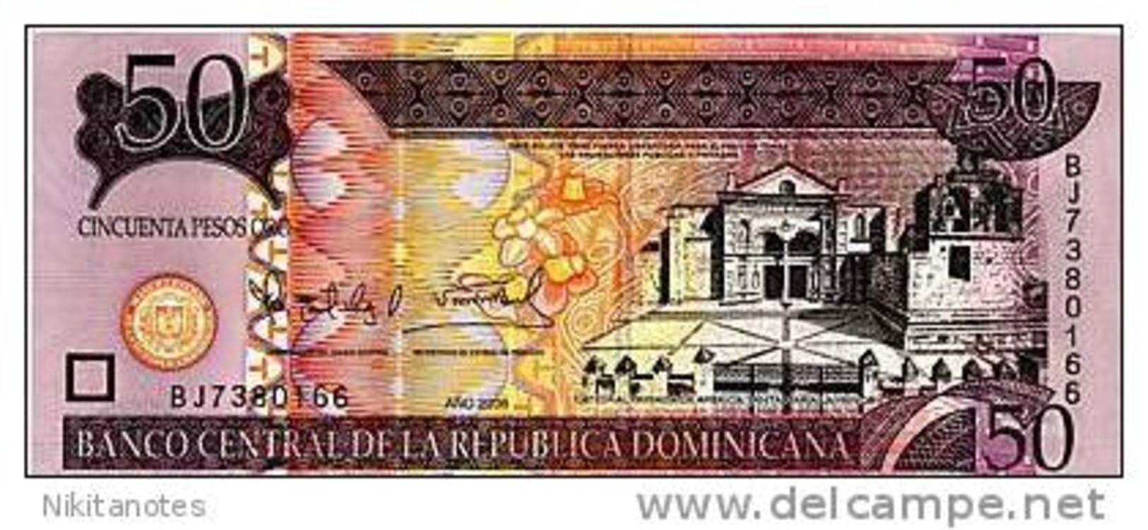 Dominican Republic 2006 - 50 Pesos Oro UNC - Dominicaanse Republiek