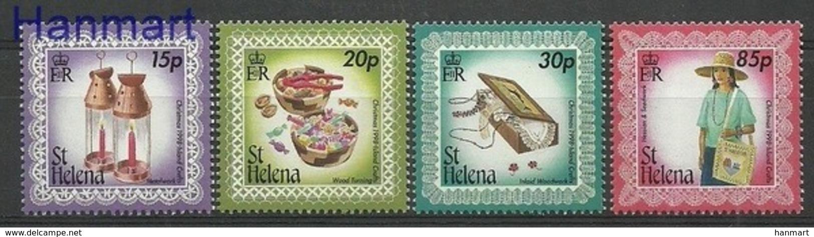 Saint Helena Island 1998 Mi 748-751 MNH ( ZS6 SHL748-751 ) - Saint Helena Island