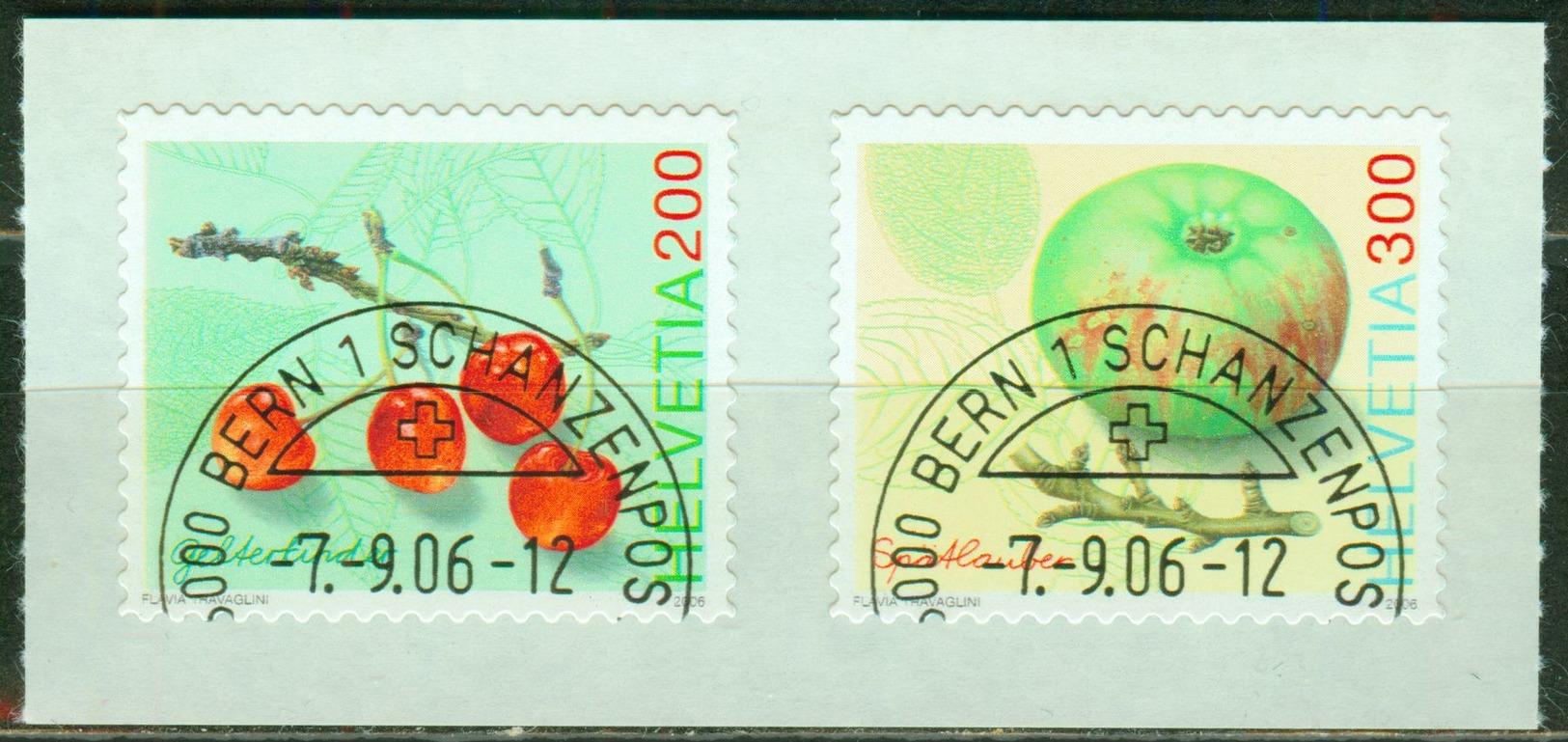Nr. 1982/83 Auf Folienstreifen - Michel 8 € - Switzerland