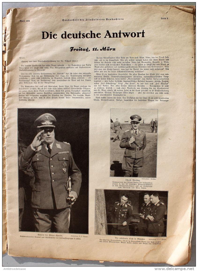 Illustrierter Beobachter 1938 Der Führer Macht Geschichte Sonderheft - Zeitungen & Zeitschriften
