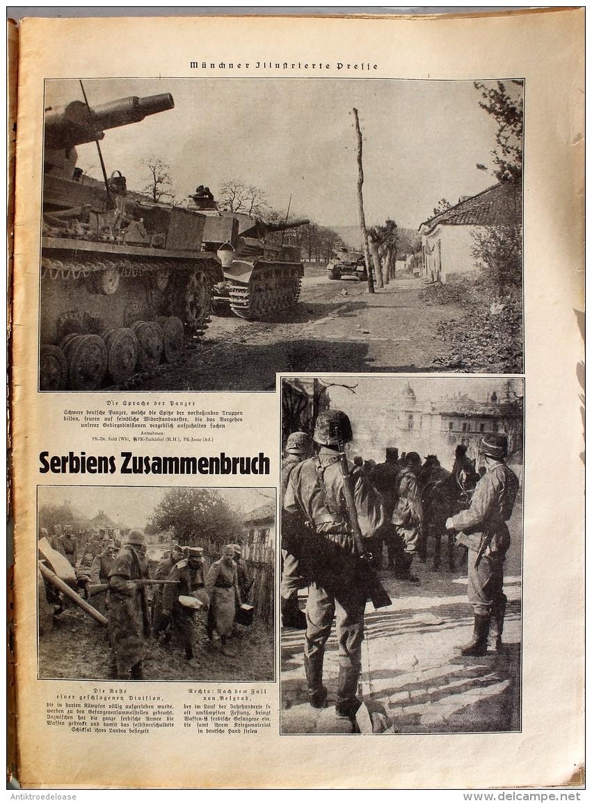 Münchner Illustrierte Presse 1941 Nr.18 Gebirgsjäger Nach Einer Erstürmung - Zeitungen & Zeitschriften