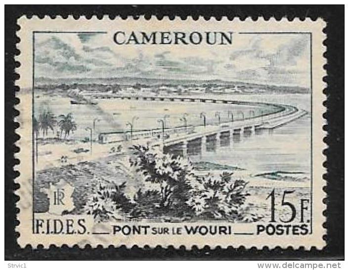 Cameroun, Scott # 327 Used Fides, 1956 - Cameroun (1915-1959)