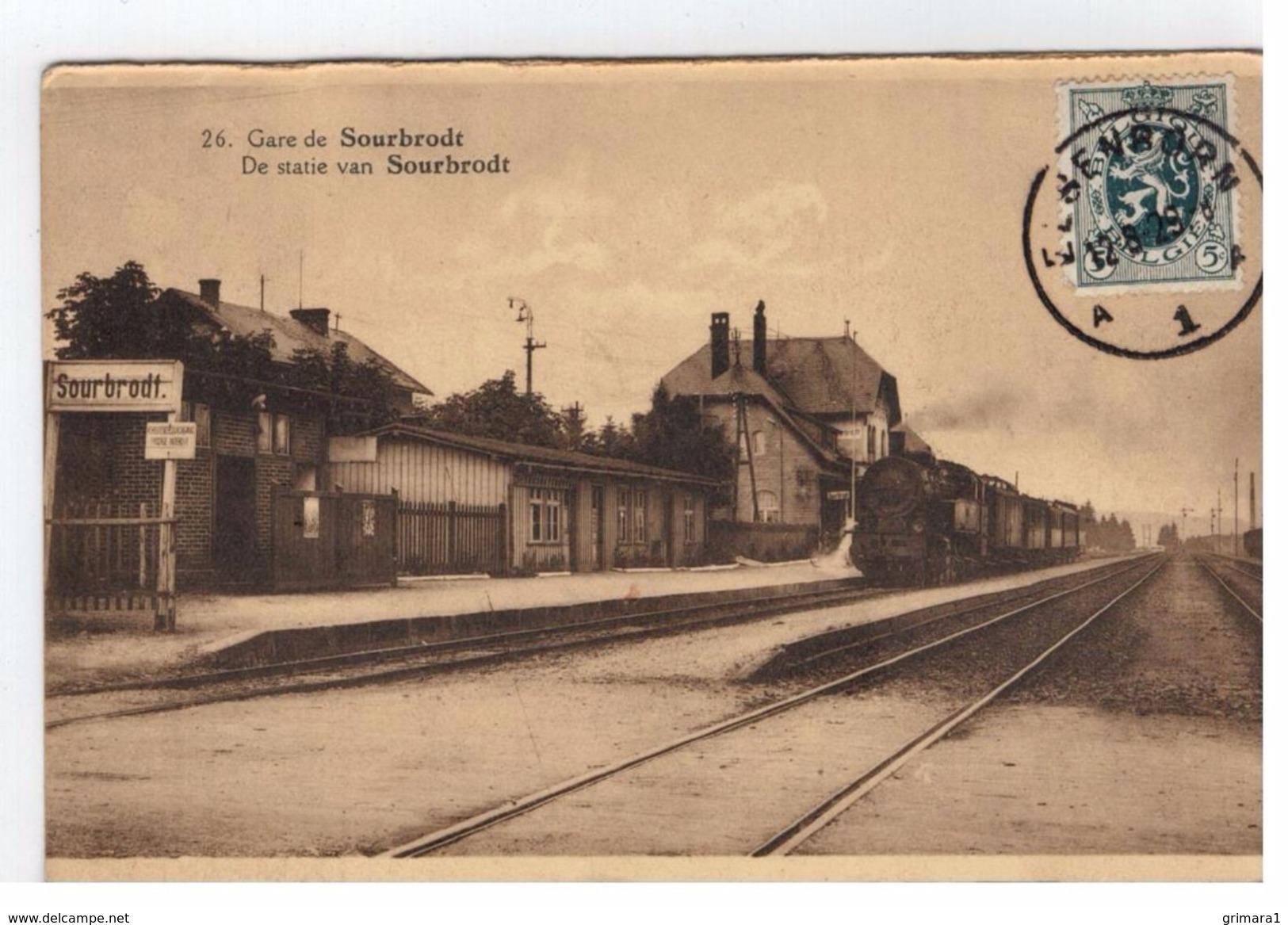 26.Sourbrodt Gare De Sourbrodt - Waimes - Weismes