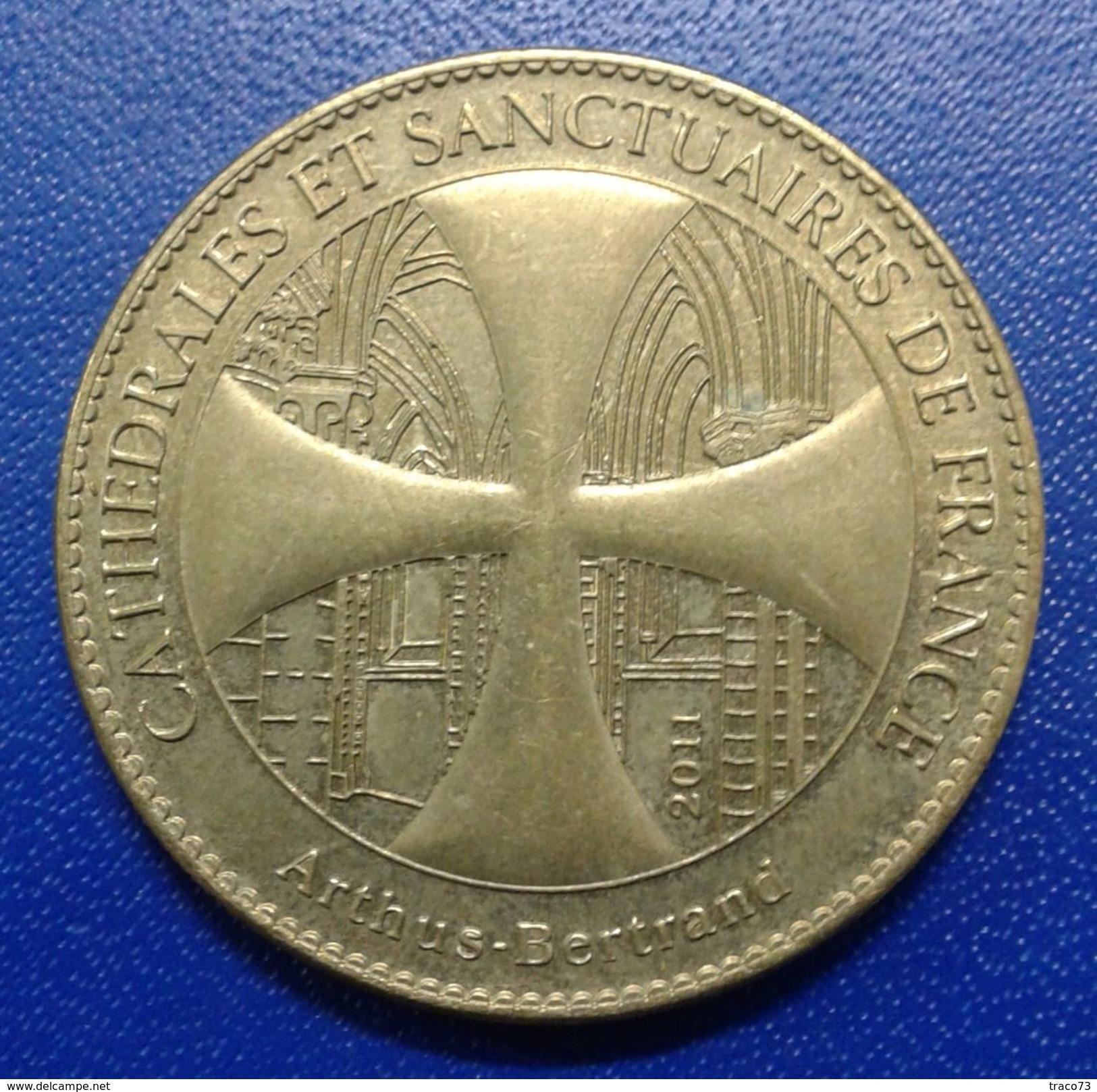 CHRIST DE LA MOSAIQUE  - CATTEDRALES ET SANCTUAIRES DE FRANCE /   MEDAGLIA - Altri