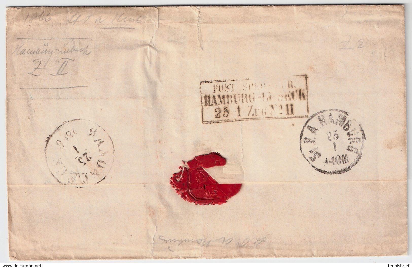 1866, Hannover Nach Dänemark!  , #8474 - Hanover