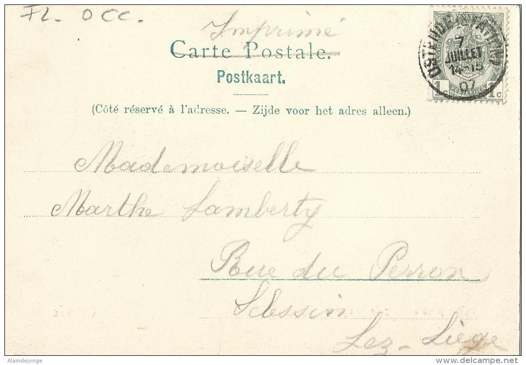 Oostende Ostende Vue Prise Au Bois De Boulogne - 1907 - Oostende