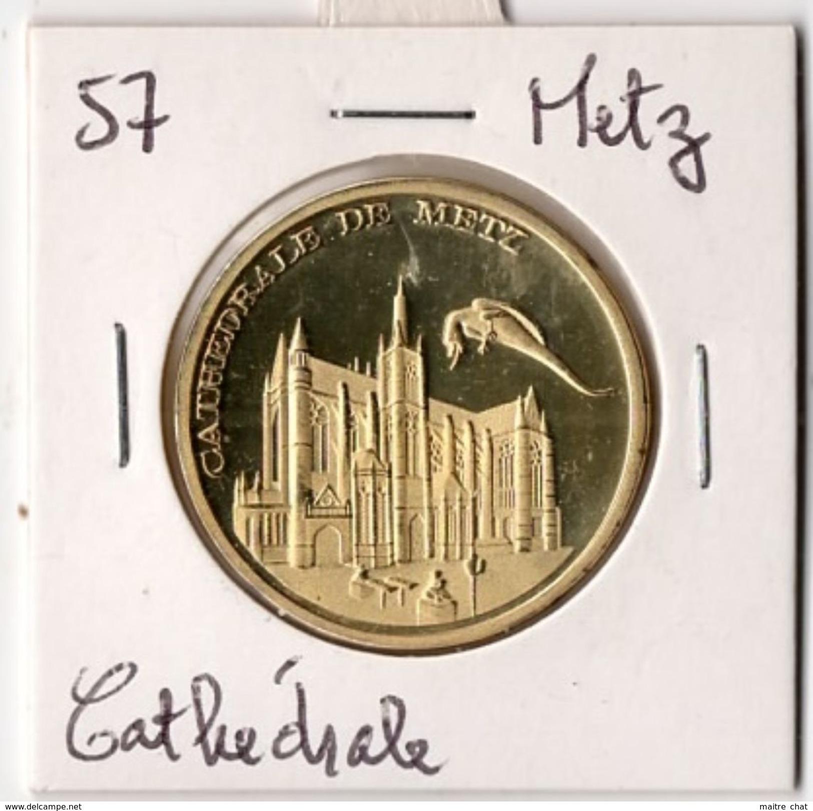Metz - 57 : Cathédrale (Souvenirs Et Patrimoine) - Tourist