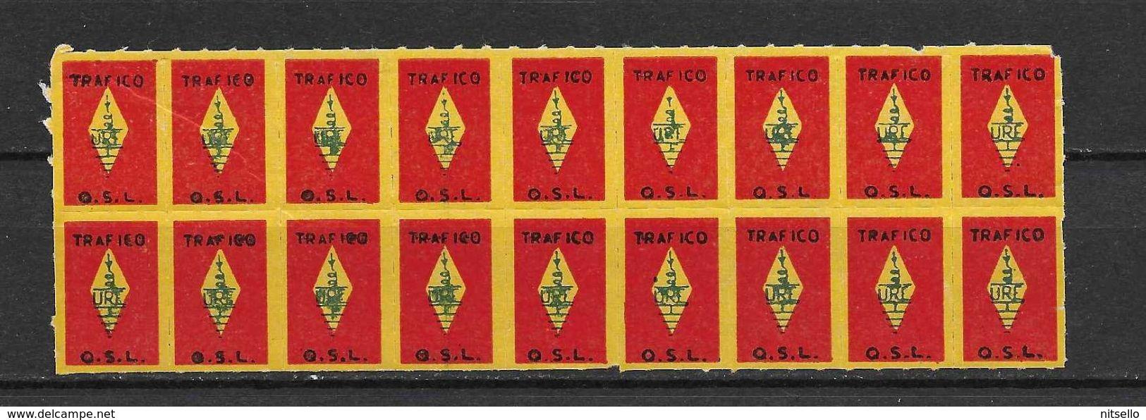 LOTE 1397  ///  ESPAÑA  CUPONES DE TRAFICO G.S.L. - Billetes De Transporte