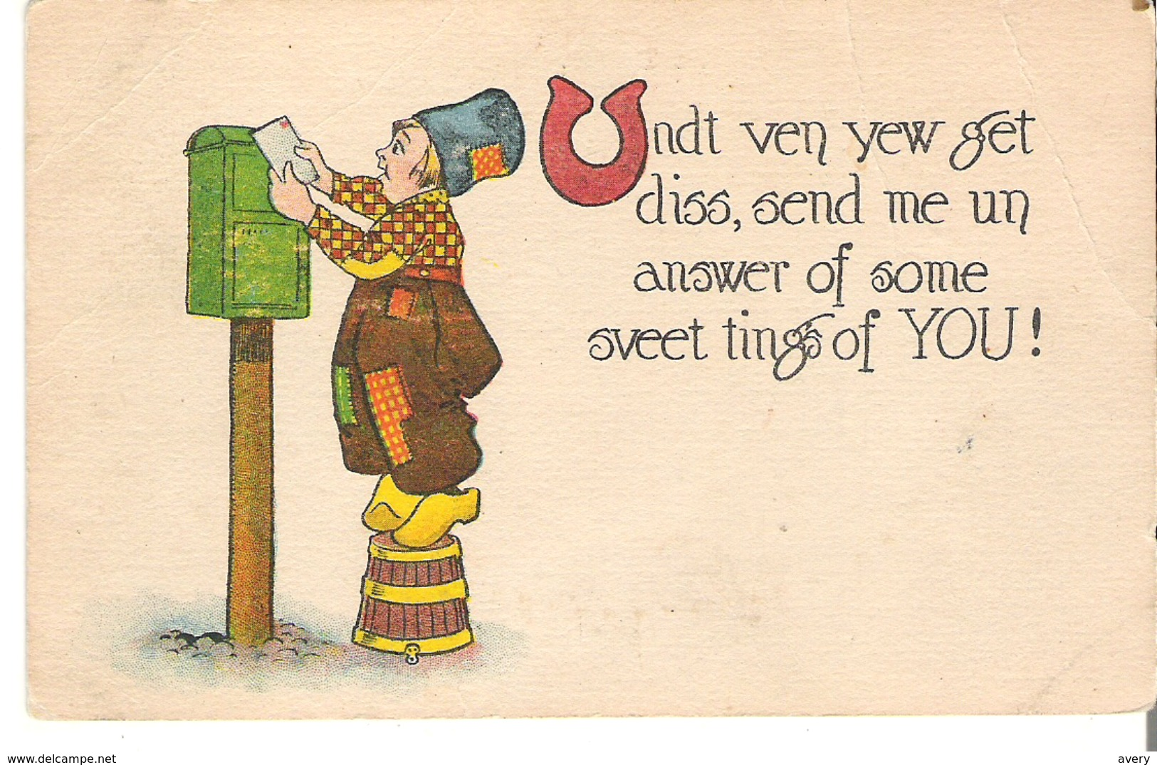 Undt Ven Yew Get Diss, Send Me Un Answer Of Some Sveet Tings Of You! - Humour
