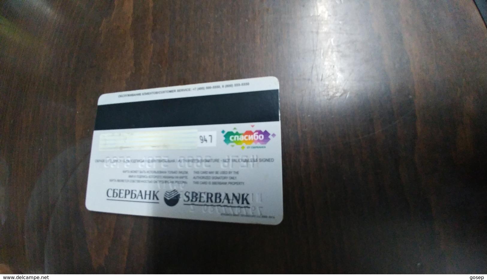 Russia-credict Card-(44)-(947) - Geldkarten (Ablauf Min. 10 Jahre)