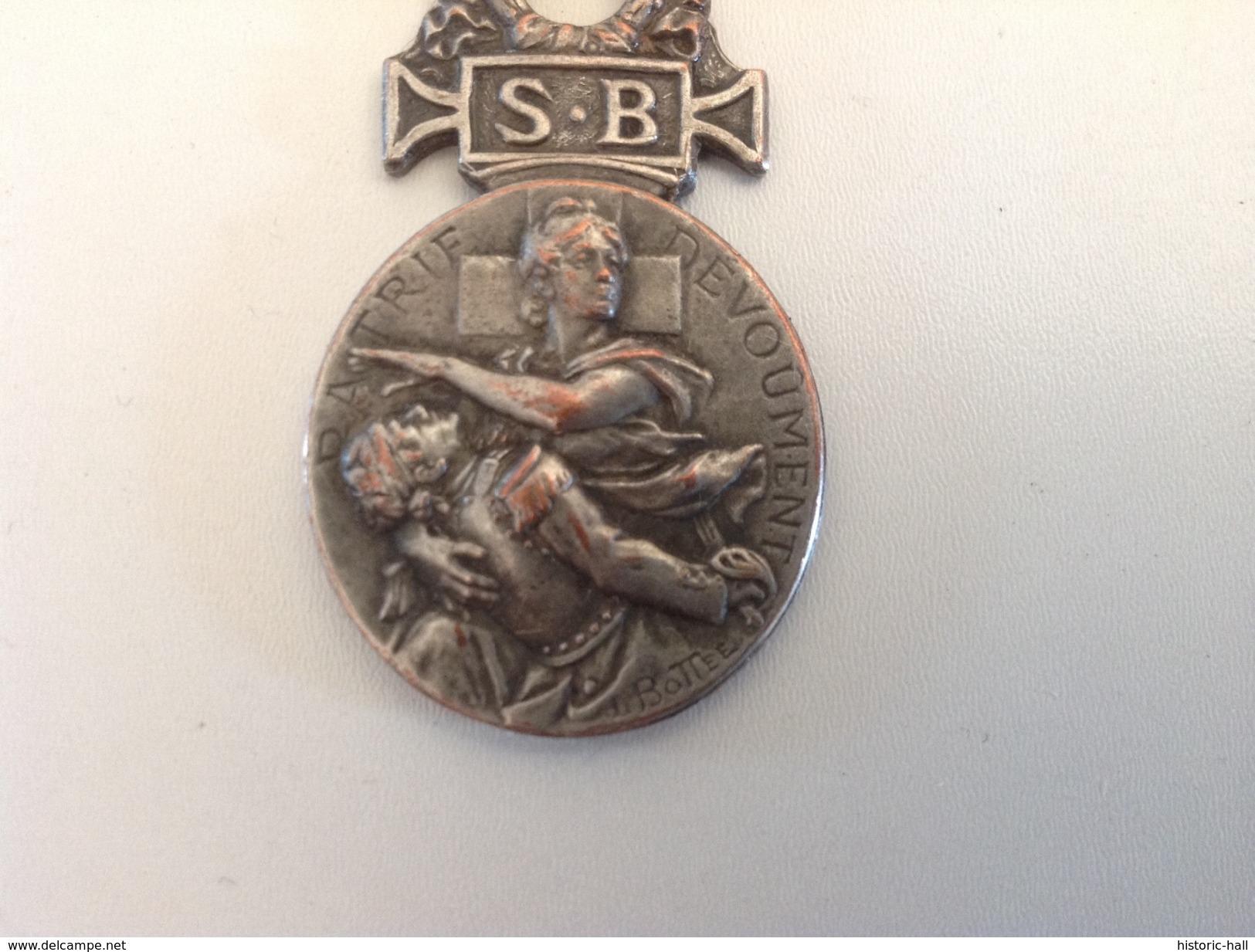 Medaille Société Française De Secours Aux Blessés Militaires 1864-1866 - Médailles & Décorations