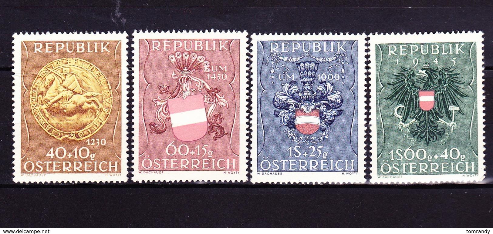 Österreich 1949, Kriegsgefallenen-Fürsorge, Satz - 1945-60 Ungebraucht