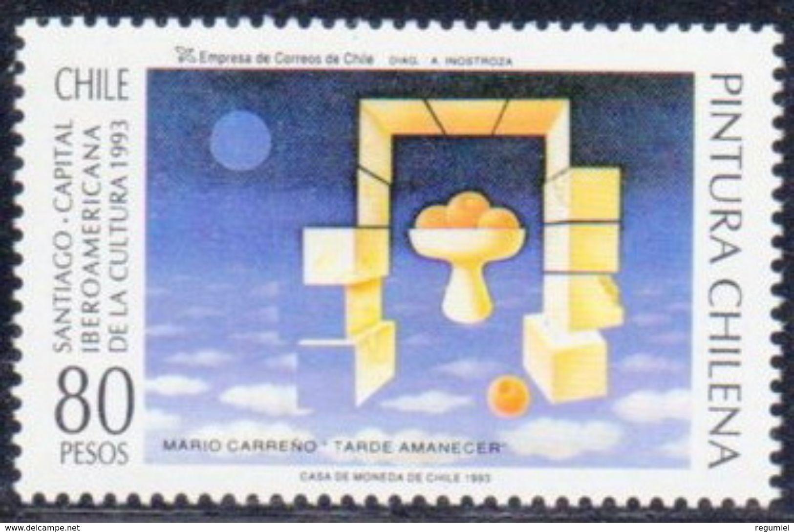 Chile 1176 ** MNH. 1993 - Chile