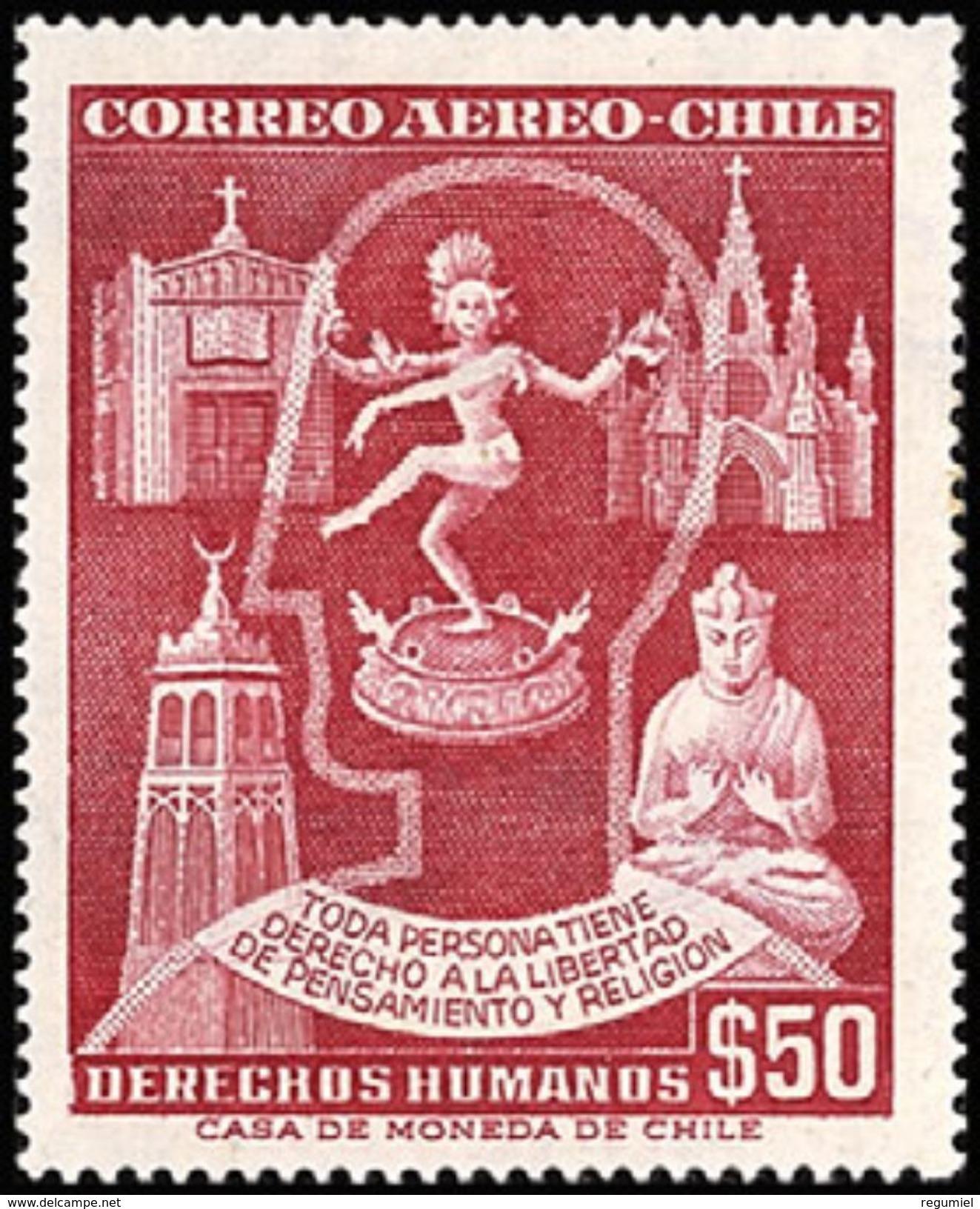 Chile Aereo 180 ** MNH. 1958 - Chile