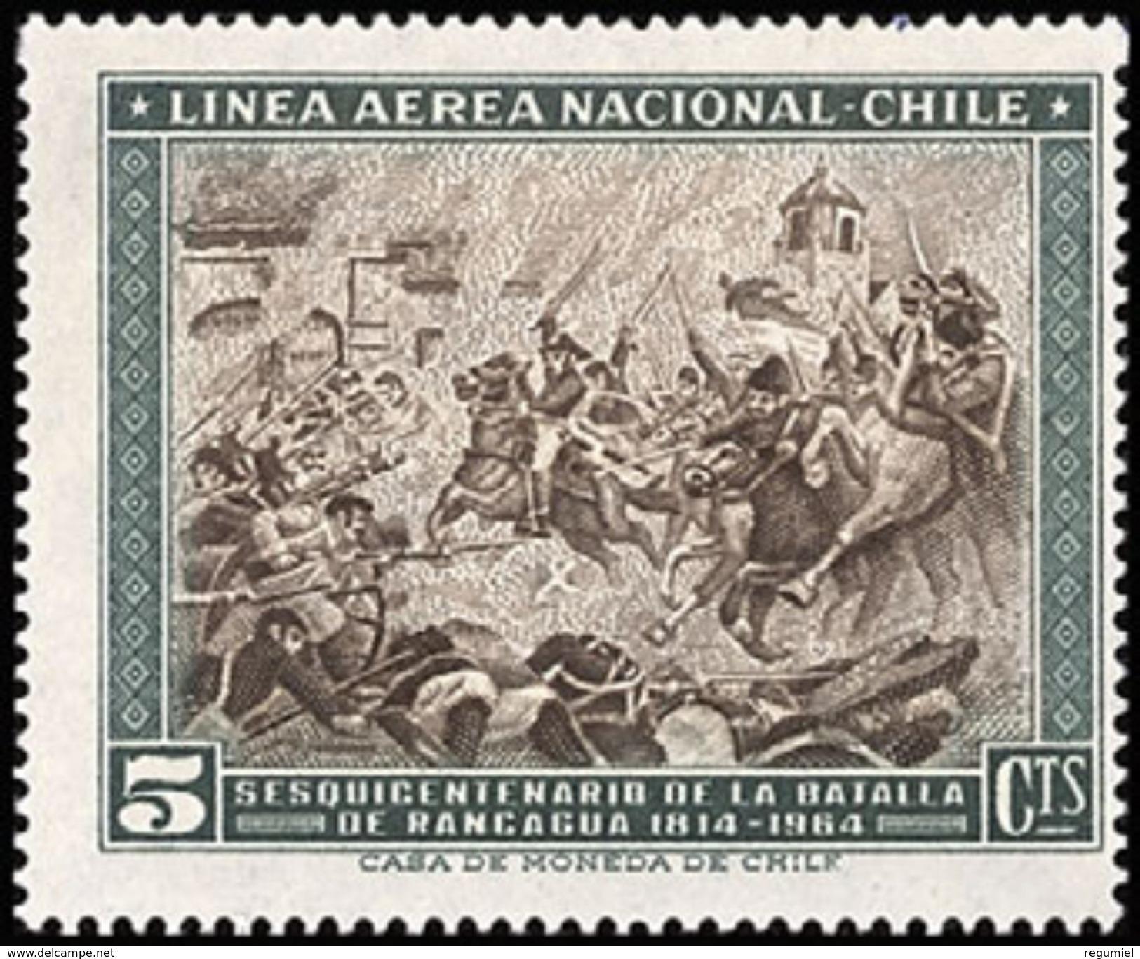Chile Aereo 221 ** MNH. 1965 - Chile