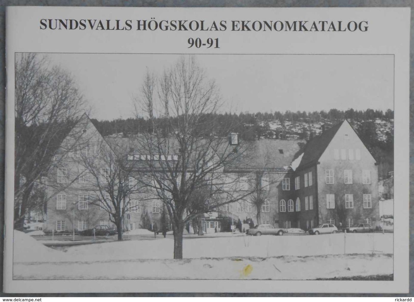 Sundsvalls Högskolas Ekonomkatalog 90-91 - Scandinavian Languages
