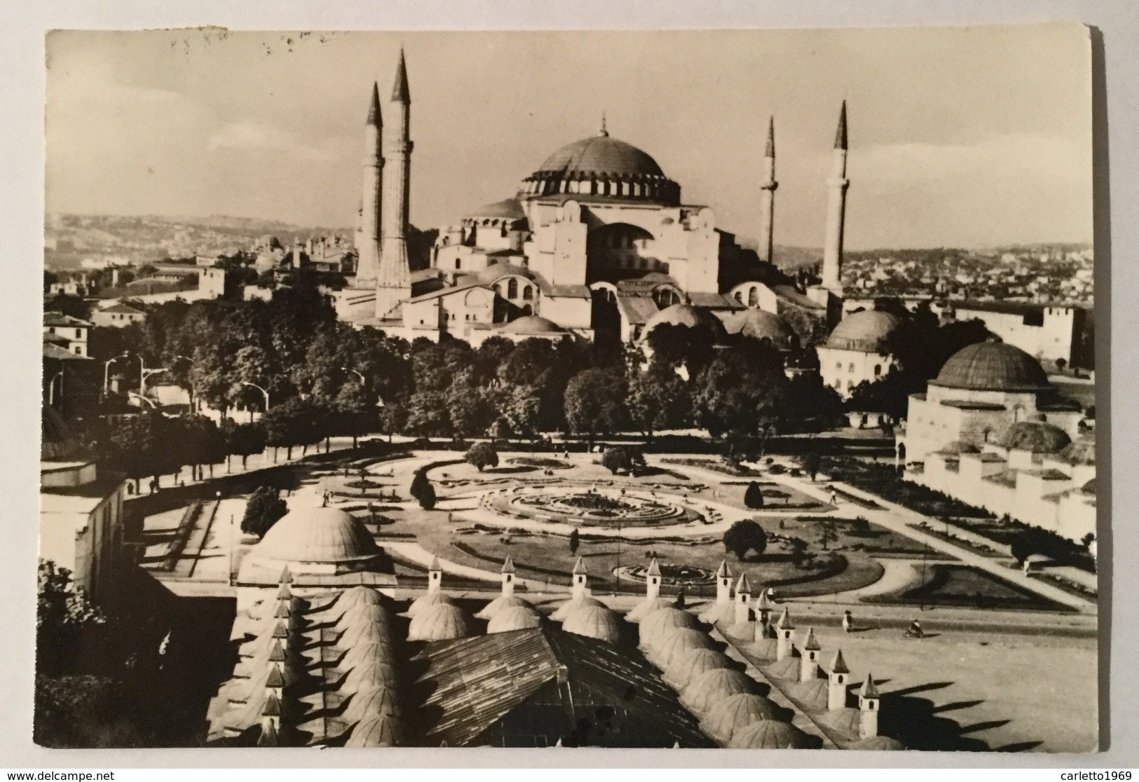 ISTANBUL - THE SAINT SOPHIE MOSQUE VIAGGIATA FG - Turchia