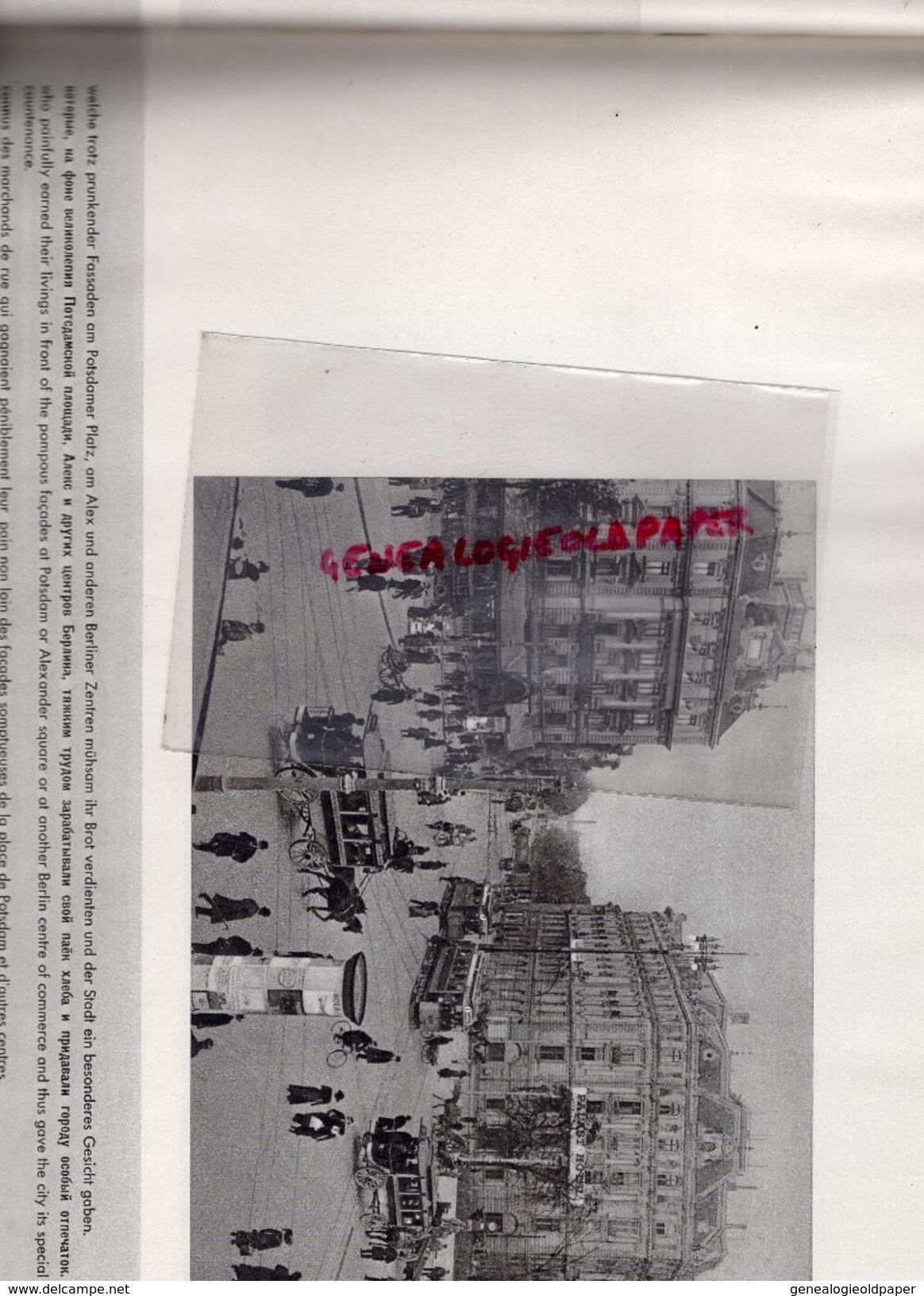 ALLEMAGNE - BERLIN- III WELTFESTSPIELE DER JUGEND UND STUDENTEN FUR DEN FRIEDEN 1951-EBERT PREFET -CENTRE DE LA PAIX - Bücher, Zeitschriften, Comics