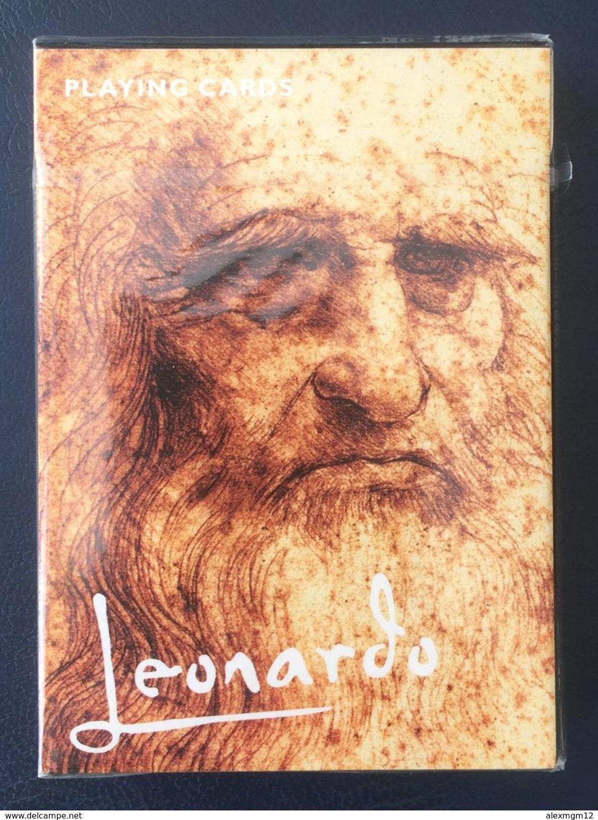 Leonardo Playing Cards, Piatnik, Austria, New, Sealed - Playing Cards (classic)