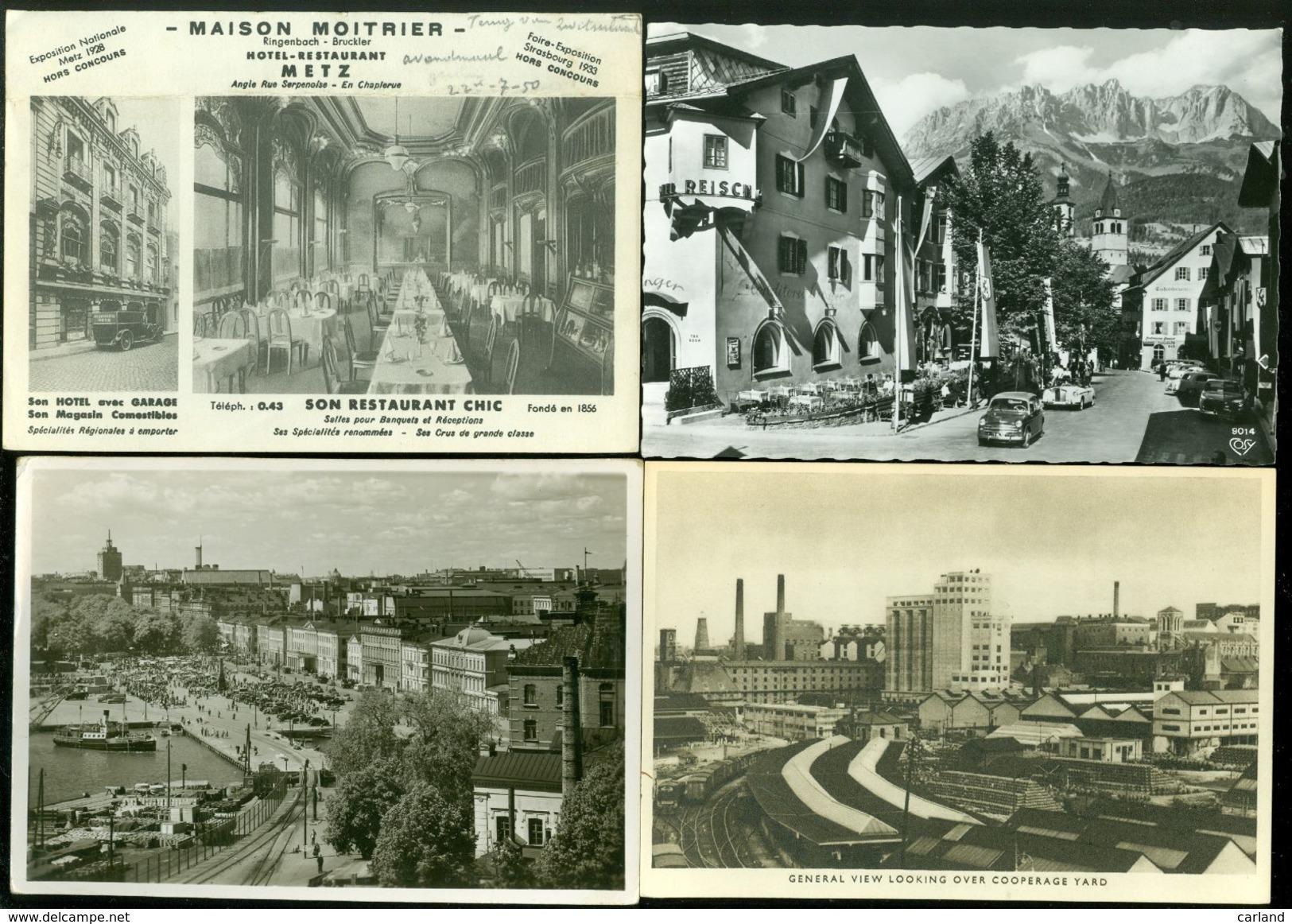 Beau Lot De 60 Cartes Postales Semi Modernes Grand Format Du Monde       Mooi Lot  60 Postkaarten Wereld Groot Formaat - Cartes Postales