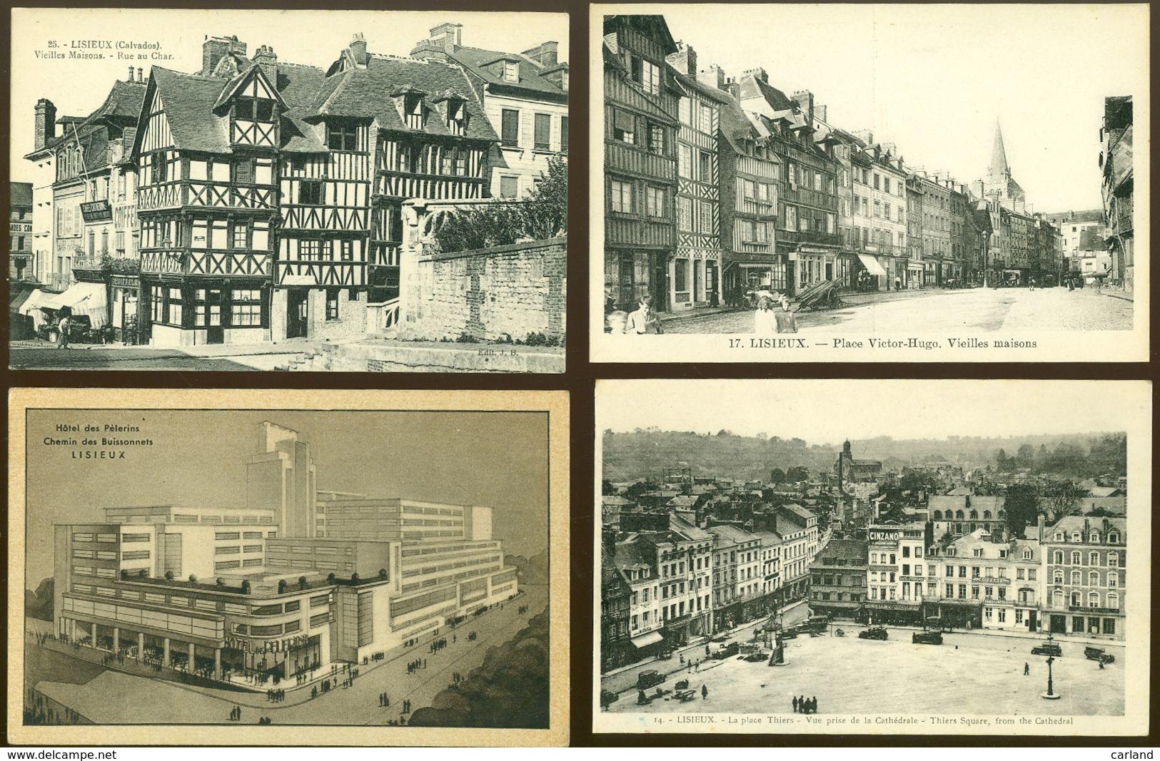 Beau Lot De 60 Cartes Postales De France  Lisieux   Mooi Lot Van 60 Postkaarten Van Frankrijk  Lisieux -  60 Scans - Cartes Postales
