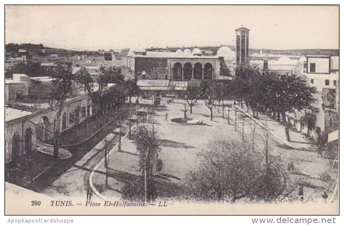 Tunisia Tunis Place El-Halfaouine