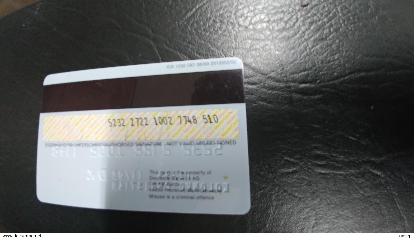Germany-credict Card-(98)-looking In Chip(7748-510) - Geldkarten (Ablauf Min. 10 Jahre)