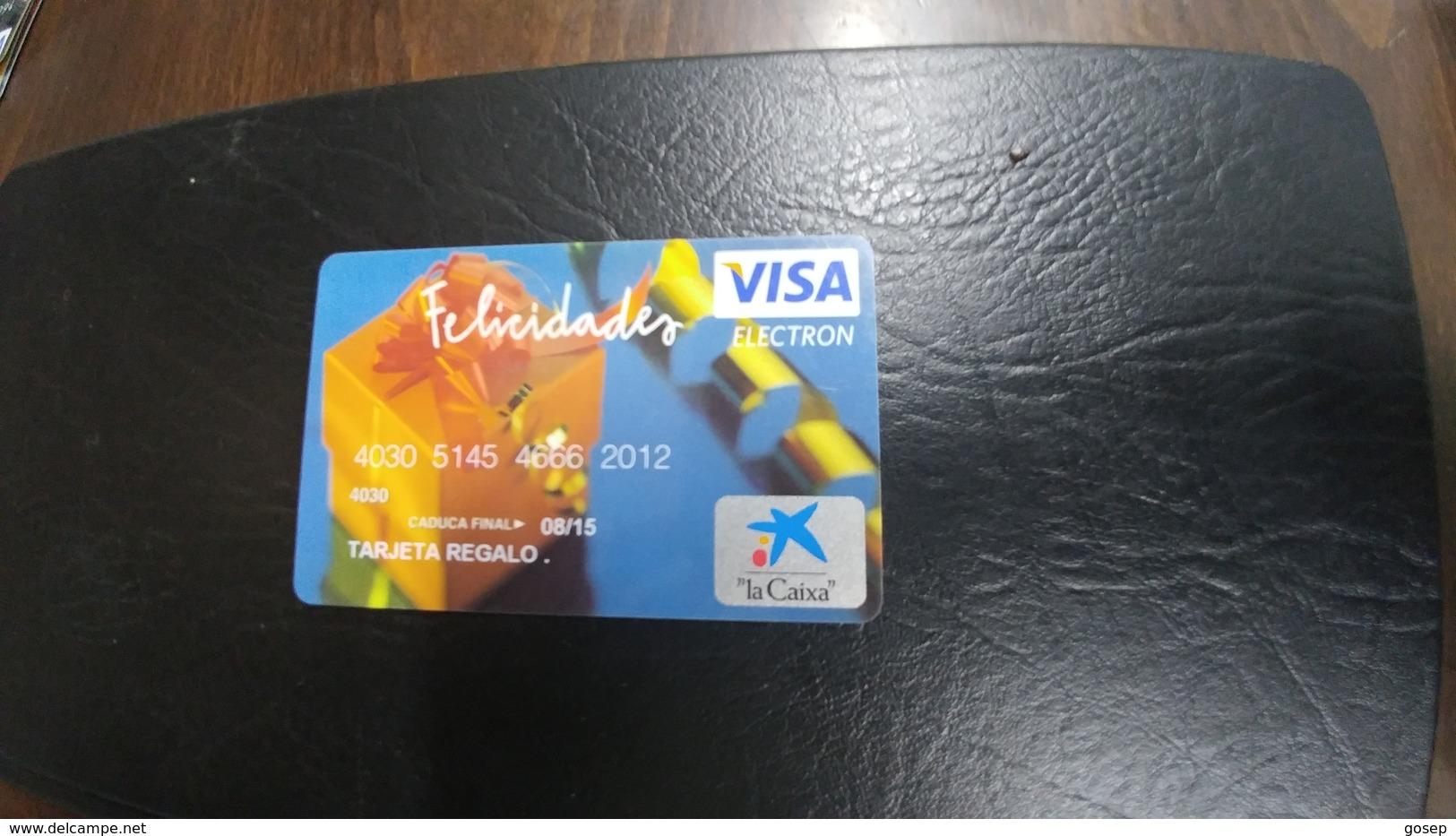 Spain-credict Card-(103)-looking In Chip(779) - Geldkarten (Ablauf Min. 10 Jahre)