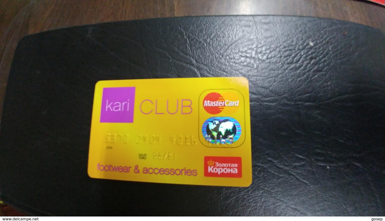 Russia-credict Card-(118)-looking In Chip(4163-073) - Geldkarten (Ablauf Min. 10 Jahre)