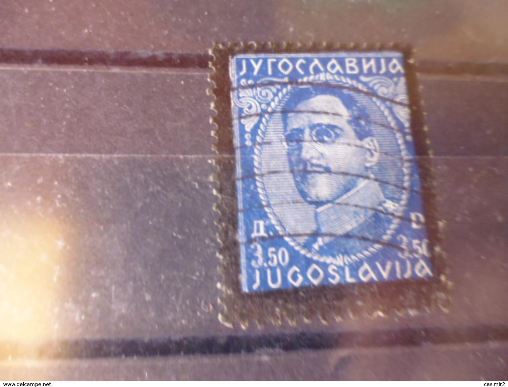 YOUGOSLAVIE   YVERT N° 270 - 1931-1941 Royaume De Yougoslavie
