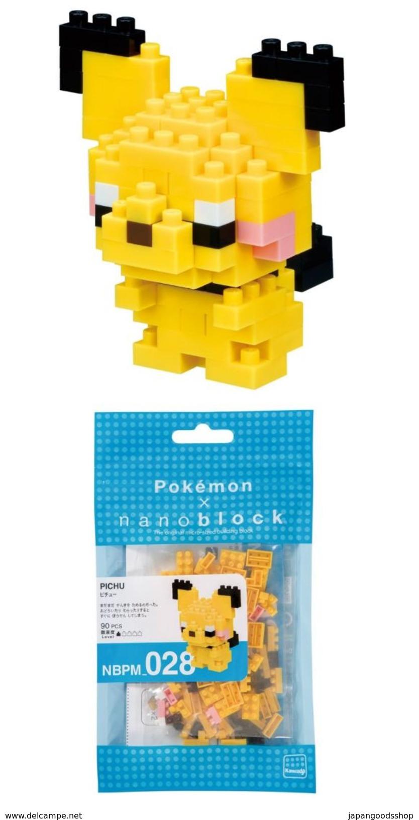 Pokemon Nanoblock : Pichu ( Kawada/Platz ) - Other Collections